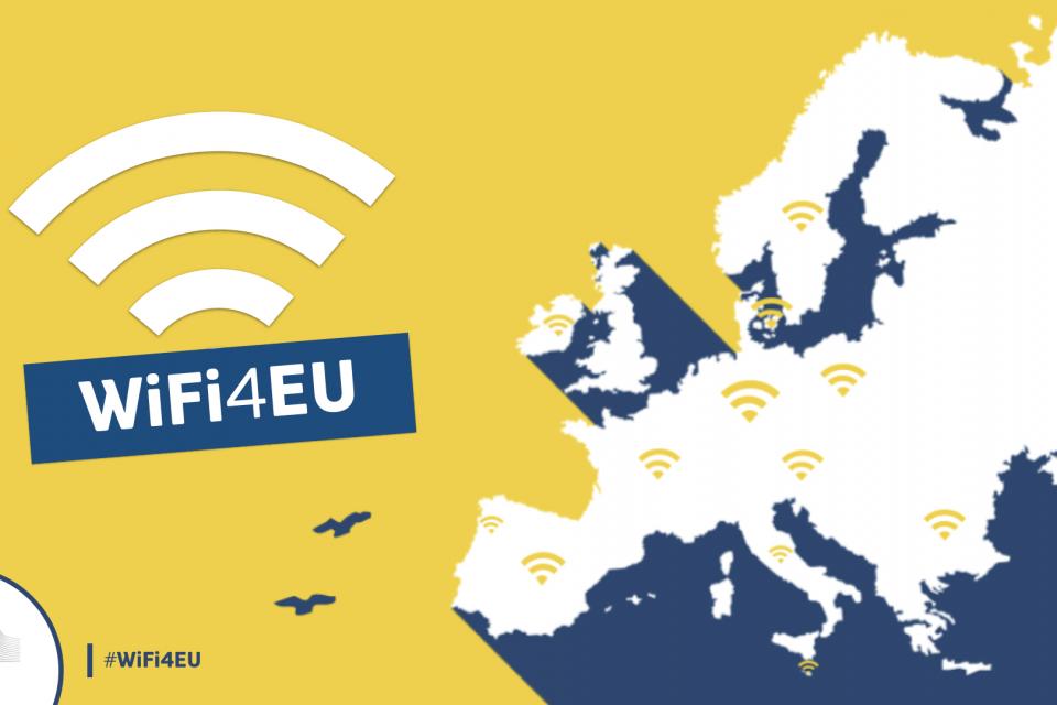 """Община Ямбол се възползва от поканата на Изпълнителната агенция за иновации и мрежи към Европейската комисия за участие в инициативата """"WIFI4EU – насърчаване..."""