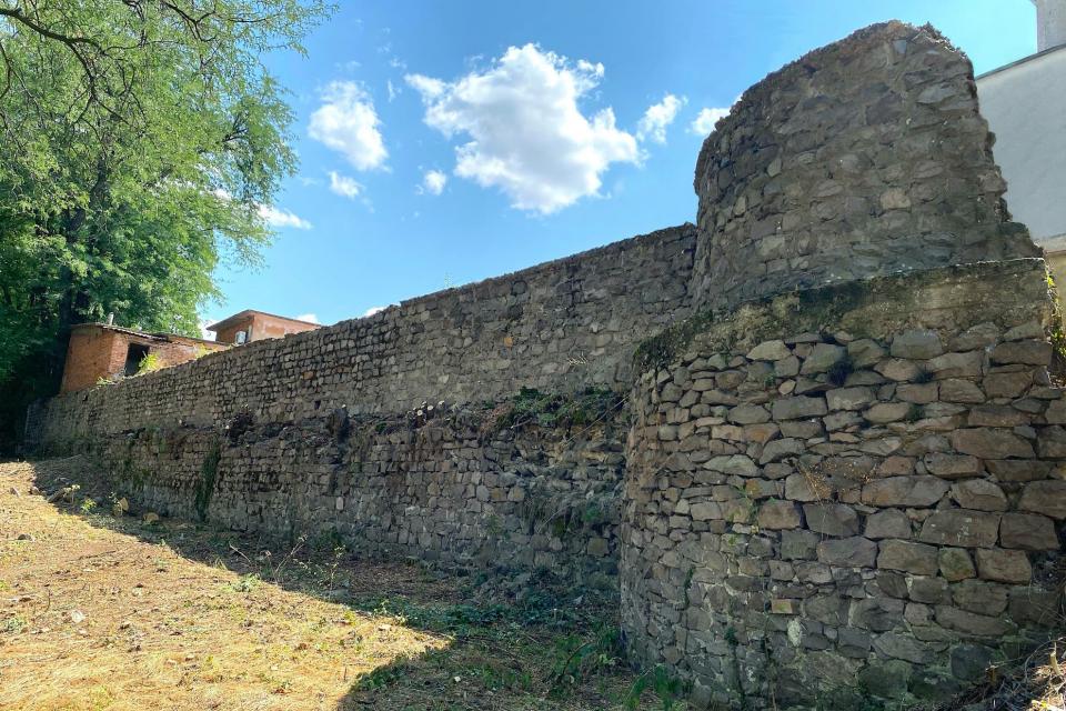 ънеща в забрава и изоставена от дълги години, северната крепостна стена беше обрасла с гъста растителност, затова Община Ямбол реши да я възстанови и почисти. Тя...