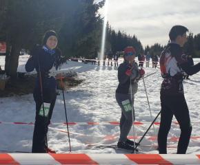 """Общо 8 медала спечелиха състезателите на СКО """"Сини камъни"""" в държавното първенство по ски ориентиране"""