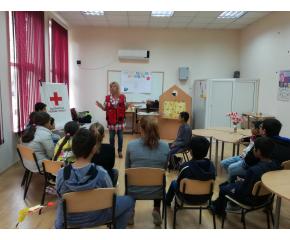 Обучение на Детското полицейско управление в БЧК