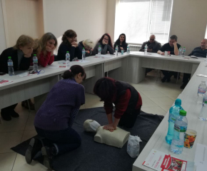 Обучение за първа помощ на работното място проведоха от БЧК