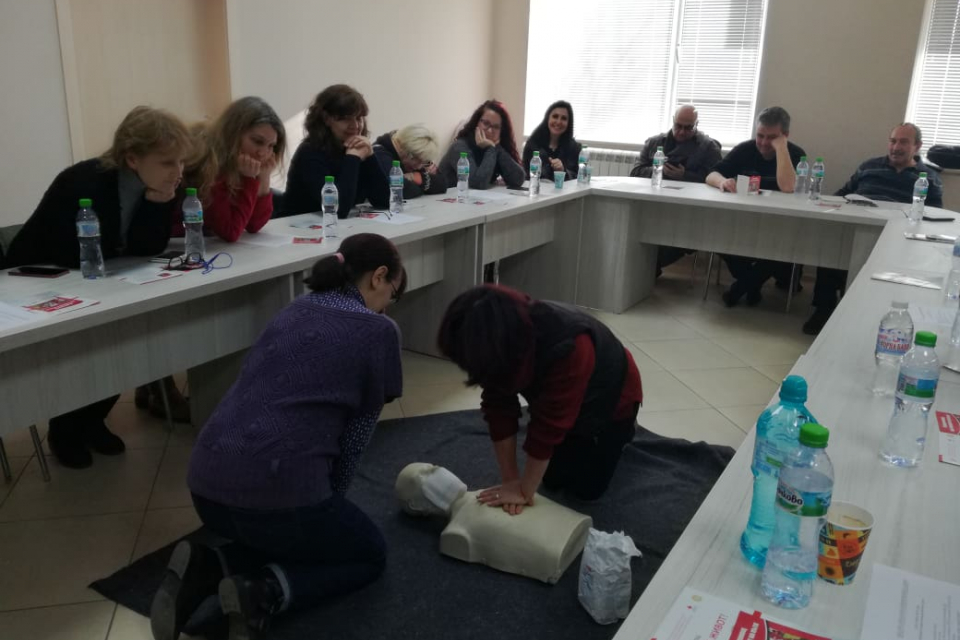 На 12 и 13 февруари 2020г., в учебната зала на БЧК – Ямбол се проведоха две обучения по първа помощ на работното място за служители от Областна администрация....