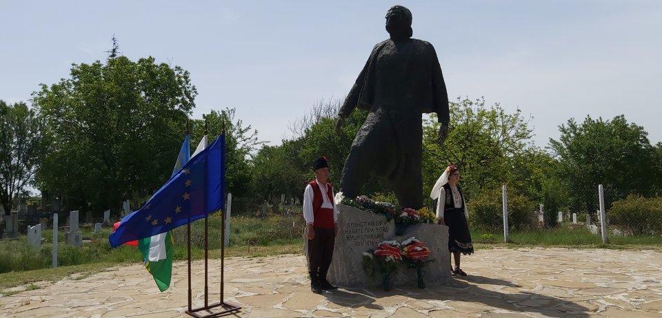 """На 15 май 2020 г., пред паметника """"Априлец"""" в село Бояджик, община """"Тунджа"""", бяха отбелязани 144 години от Бояджишкия бунт. """"Земята под краката ни е по-истинска..."""