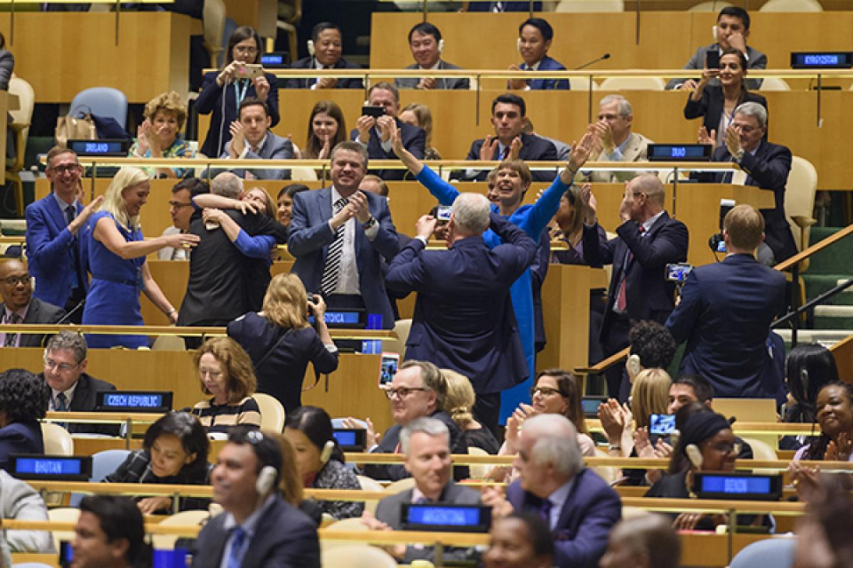 Генералната асамблея на ООН прие резолюция, обявяваща 25 април за Международен ден на делегата. Той се празнува за първи път през 2020 година. Резолюцията...