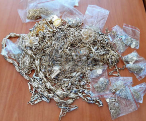 """Oткриха близо килограм контрабандни златни накити на ГКПП """"Лесово"""""""