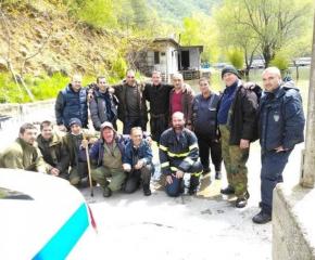 Откриха мъж, който се изгуби в планинска местност, за по-малко от денонощие
