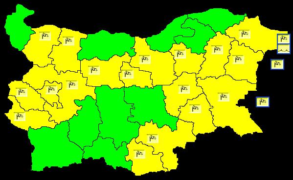 И днес ще е ветровито. Ще продължи да духа до умерен, в Източна България и северно от планините временно силен югозападен вятър. Ще се задържи значително...