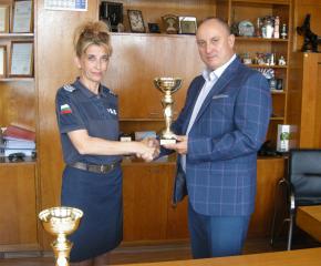 """Победа Карарадева е абсолютен лидер в стрелбата на конкурса """"Пътен полицай на годината"""""""