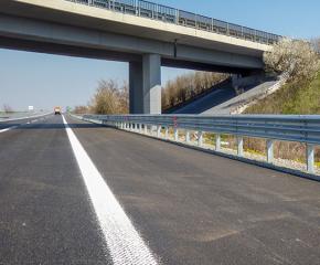 """В понеделник се ограничава движението в част на магистрала """"Тракия"""" в посока София"""