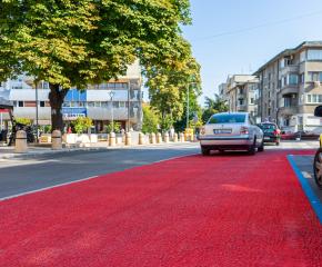 Повишаване на пътната безопасност на опасна пешеходната пътека в града предприе Община Ямбол