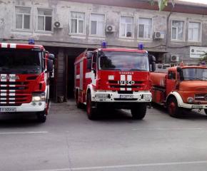 Пожар без пострадали хора във вилна зона Курткая