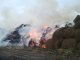 Пожар изпепели сеновал със 700 бали слама в Ситово