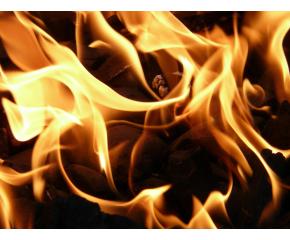 Пожар с щети в село Недялско