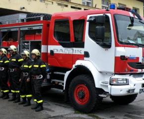 Пожарната в Сливен се отзова на 15 сигнала за произшествия в дните от 14 до 17 февруари