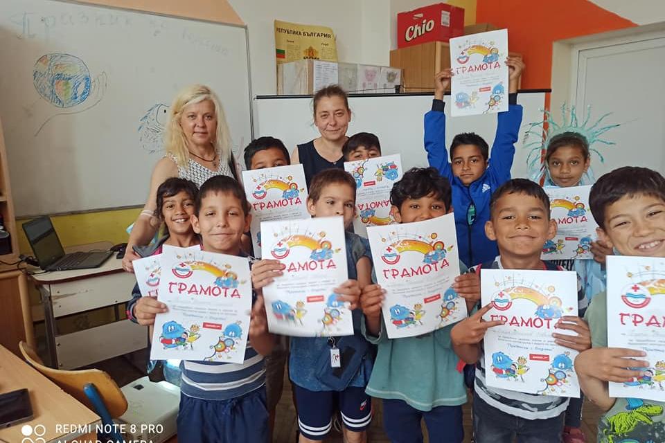 """На 23 юни 2021г., в ОУ """"Христо Смирненски"""" в град Ямбол, се проведе Празник на водата с учениците от втори клас, включени в програмата за обучение и превенция..."""