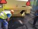 Преасфалтирането и изкърпването на улици в Ямбол продължава