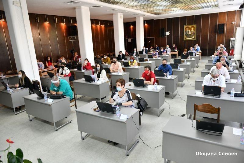 Избор на Временна комисия за актуализация на Правилника за организацията и дейността на местния парламент в Сливен, неговите комисии и взаимодействието...