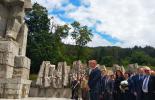 Президентът Румен Радев изнесе реч в родния град на Христо Ботев - Калофер