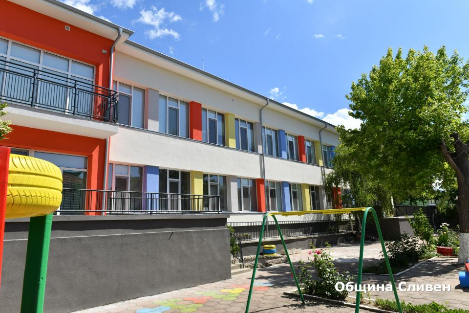 На изцяло обновени помещения и по-комфортна обстановка ще се радват най-малките граждани на Сливен от Детска ясла № 3. По време на инспекцията на обновената...