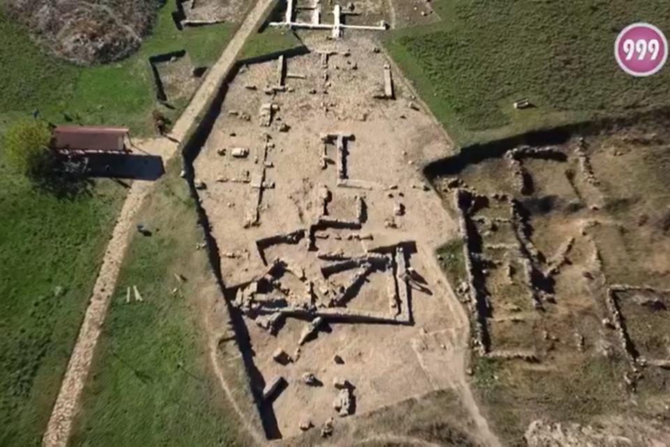 """Приключиха редовните проучвания в Археологически резерват """"Тракийски и античен град Кабиле"""".Акцент в проучването бе архитектурата, а откритието тази..."""