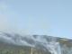 Продължава гасенето на пожара в борова гора край Твърдица