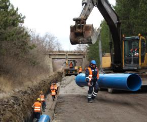 Продължават дейностите по реконструкция на водопровода Златиница-Елхово
