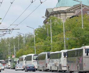 Протести на превозвачи в няколко града