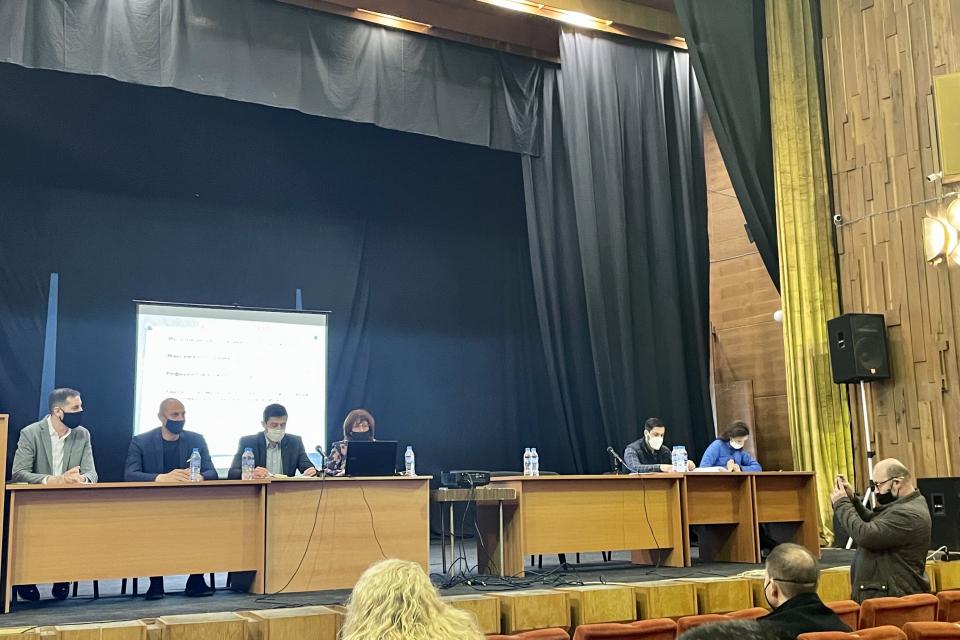 """Обществено обсъжданеза намерението на Община Ямбол да поеме нисколихвен дългосрочен дълг от Дружество по Закона за задълженията и договорите """"Фонд..."""