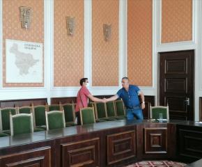 Проведе се приемен ден на кмета Стефан Радев