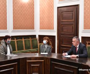Проведе се приемният ден на кмета на Сливен Стефан Радев