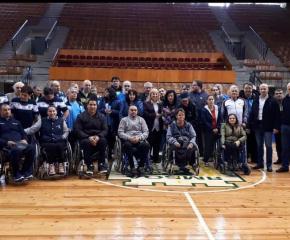 Проведе се турнир по тенис на маса за хора с увреждания
