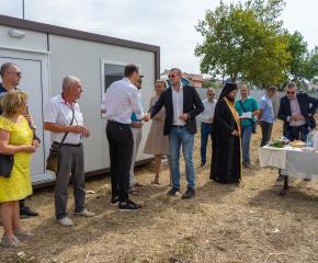 Първа копка на нов търговски комплекс в Ямбол (СНИМКИ+ВИДЕО)