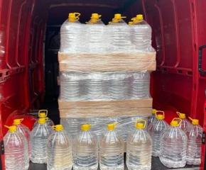 Разпределиха 3 тона спирт за дезинфекция на болници и институции