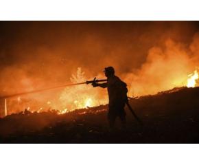Разраства се пожара край Югово в Родопите