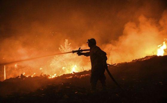 Разраства се пожарът над село Югово в Родопите. Снощи той беше локализиран в периметър от около 40 декара, но през нощта останалите на мястото дежурни...