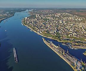 Река Дунав се е скъсила с 134 километра