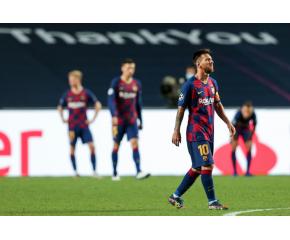 Рекорд: Барселона допусна осем гола за първи път от 1946 година