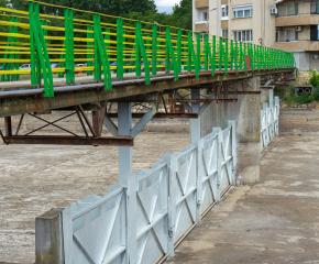 Ремонтът на саваците на река Тунджа приключи