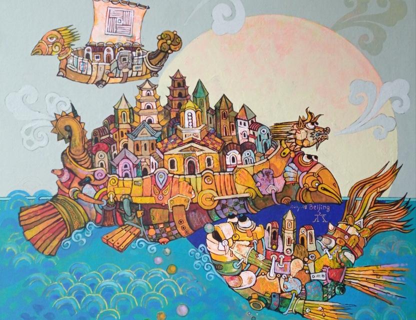"""На 17 септември от 18 часа Пламен Легкоступ ще подреди в ХГ """"Жорж Папазов"""" ретроспективна изложба """"Пътуване във времето"""", съобщава Делник. Заглавието..."""