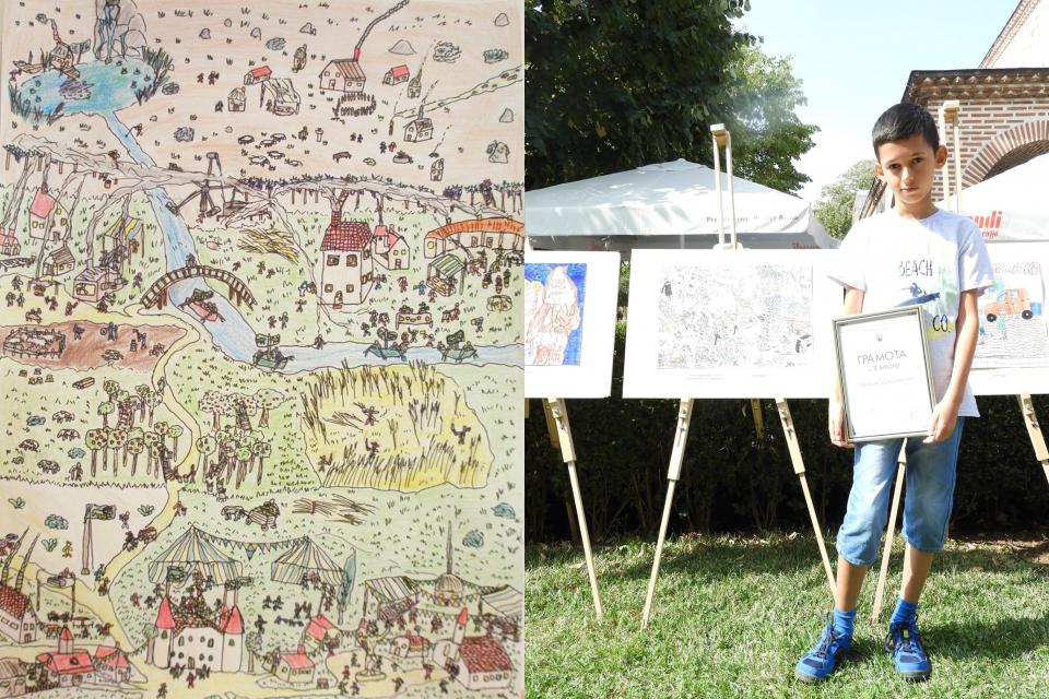 """Ямболски шестокласник е сред победителите в Конкурса на """"Егмонт"""" за илюстрация на новата книга """"Икабог"""" на Джоан Роулинг, съобщава """"Делник"""". Рисунката..."""