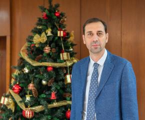 Рождественско поздравление от кмета на Община Ямбол Валентин Ревански