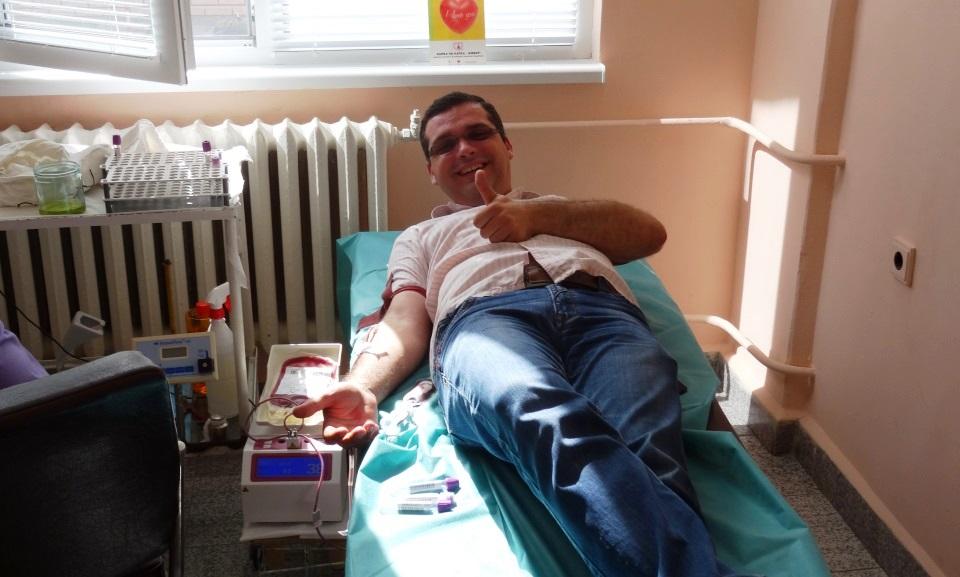 """До 19 юни в Отделението по трансфузионна хематология /Кръвен център/ към МБАЛ """"Св. Пантелеймон"""" - Ямбол, се провежда Седмица на безвъзмездното кръводаряване...."""