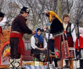 """Село Мечкарево отново е домакин на регионалният фолклорен събор """"Зимни празници"""