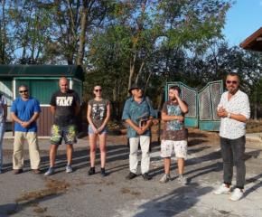 В село Видинци се осъществи пленер за млади художници
