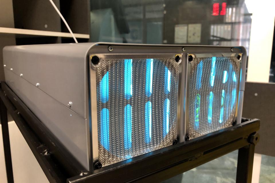 В Центъра за административно обслужване на Община Ямбол са монтирани четири ултравиолетови бактерицидни лампи за по-голяма сигурност за здравето на гражданите...