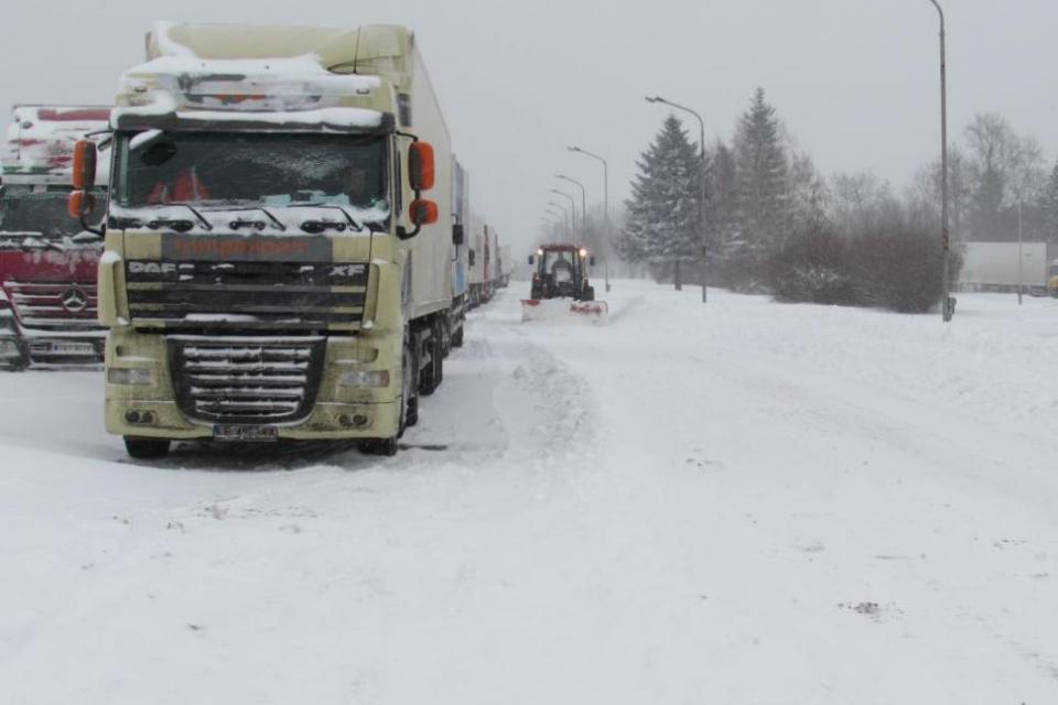 Румънски тираджия за малко не прегази шефа на Пътната служба във Велико Търново. Инцидентът е станал в неделя на Прохода на Републиката, докато пътят е...