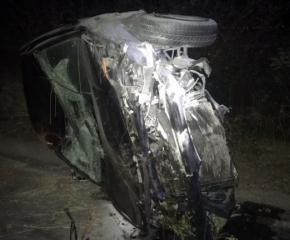 Шофьор без книжка и с фалшиви номера катастрофира край Нова Загора