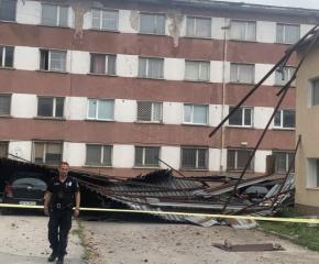 Силен вятър причини щети във Видин