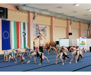 Сливен е домакин на Държавния индивидуален шампионат по спортна акробатика