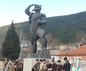 Сливен отбеляза 102 години от смъртта на Панайот Хитов